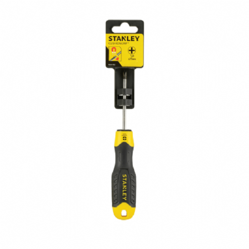 Stanley 064932 Cushion Grip Screwdriver Phillips Tip PH1 x 75mm